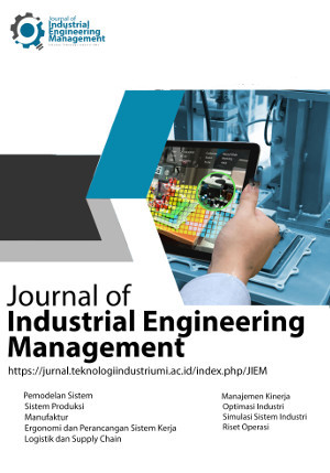 Journal Of Industrial Engineering Management